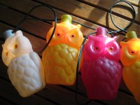 Vintage Owl String Lights Patio Camper Trailer Deck by ...