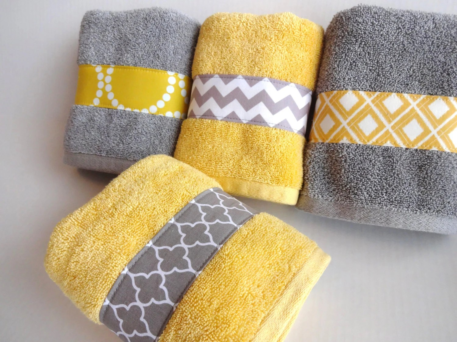 Yellow Towels Yellow And Grey Bath Towels Yellow And Grey Yellow And Gray