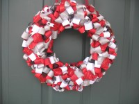 Ohio State Buckeyes Ribbon Wreath Scarlet and by ...