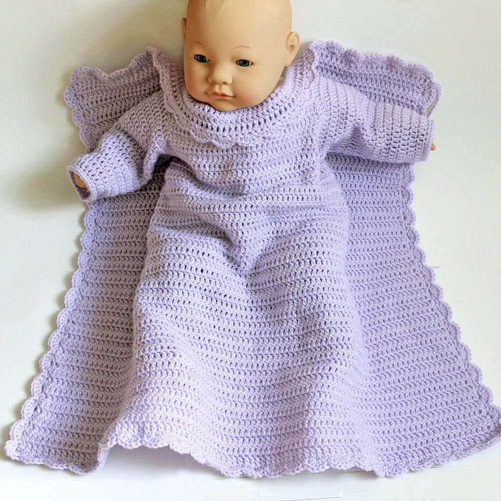 Car Seat Stroller How Long Crochet Baby Snuggie Car Seat Blanket With Arms Lavender