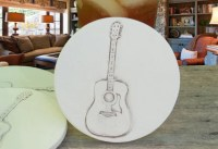 Drink Coasters Guitar Coasters Men's Gifts by ShayneMcCarter