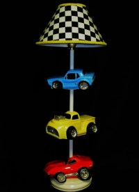 Car Lamp Hot Rods Race Cars Boy's Room Lighting