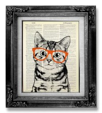 View Animal Art by GoGoBookart on Etsy