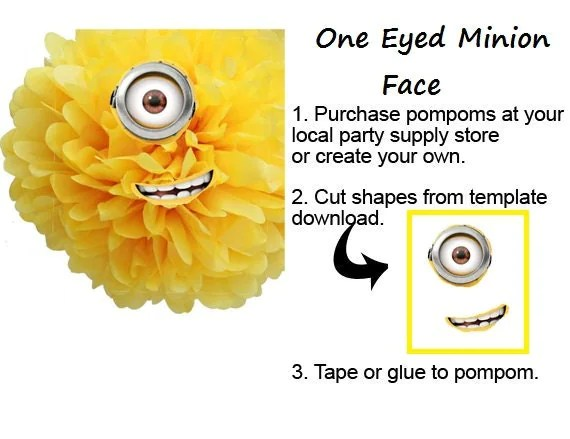 Minions Eyes Cut Out Stencils wwwpicturesboss