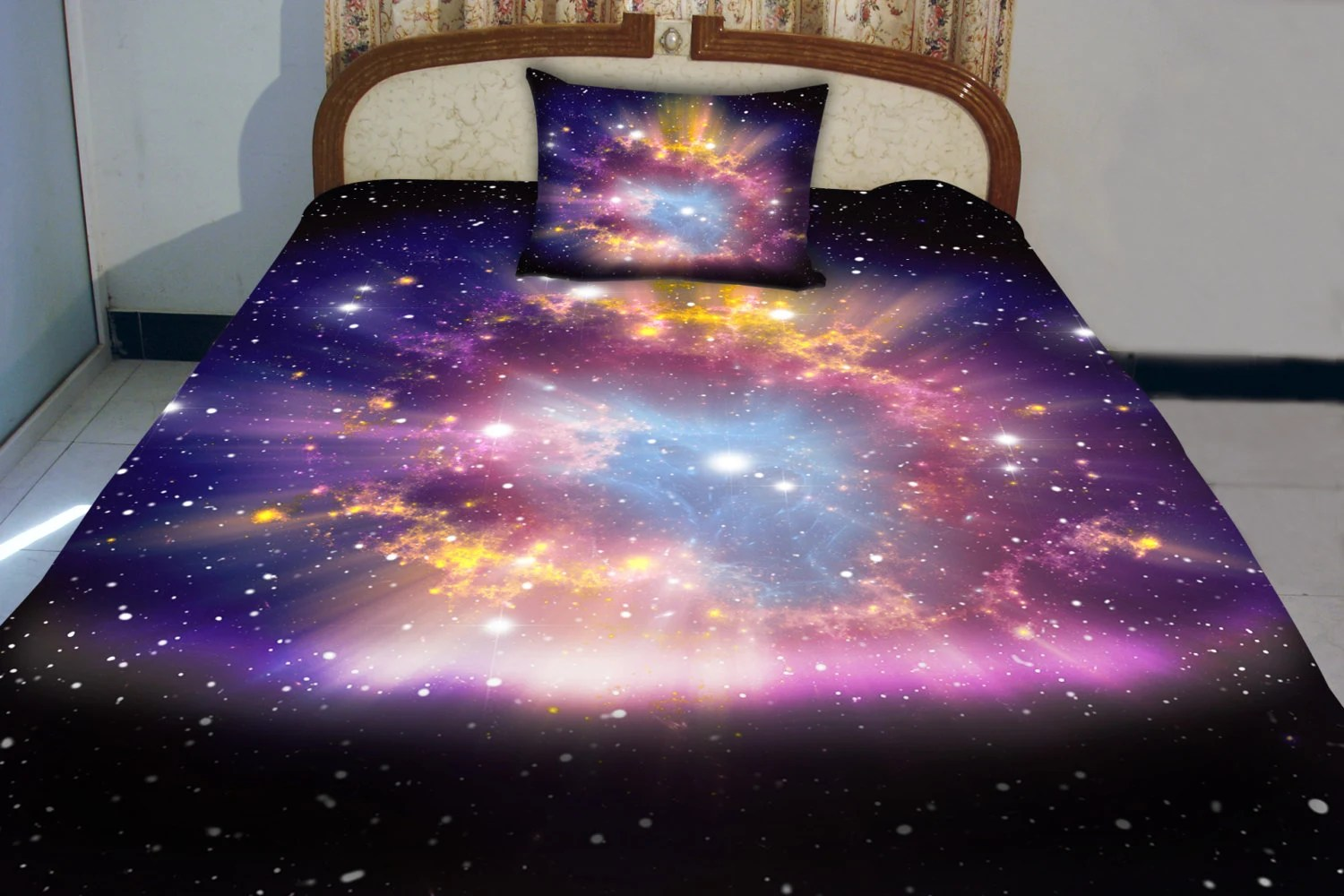 Bettwäsche Galaxie Galaxy Quilt Cover Galaxy Duvet Galaxy Sheets Space By