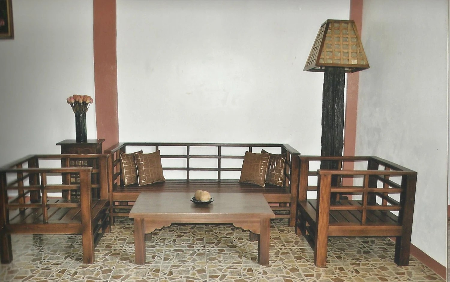 Antique Narra Sala Set Salvaged Old Wood Japanese Style Sala Set By Toykalapawmi