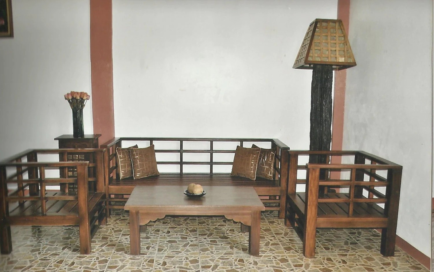 Wooden Sala Set Rizal Salvaged Old Wood Japanese Style Sala Set By Toykalapawmi