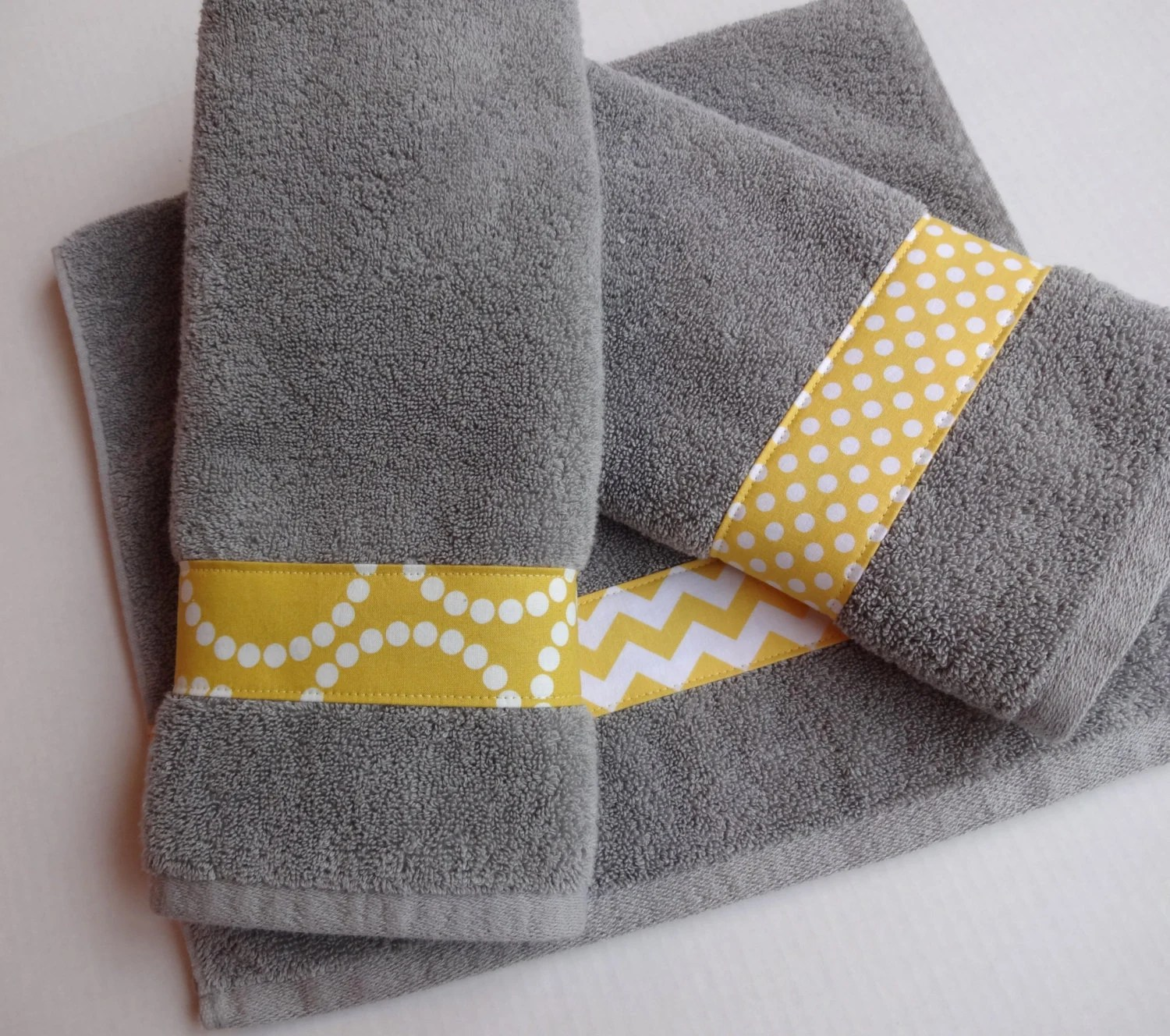 Yellow Towels Yellow And Grey Towel Hand Towels Yellow And Grey Chevron