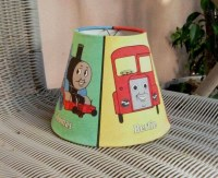 Vintage Thomas the Tank Engine Lamp Shade by ...