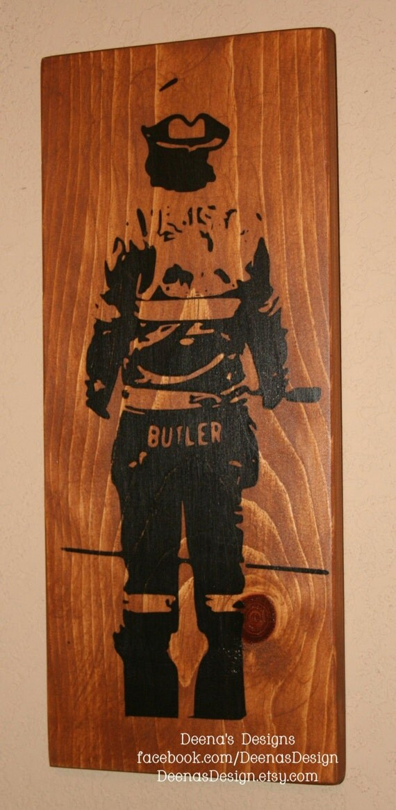 Bunker Gear Sign Turnout Gear Custom Wood Sign Firefighter - family reunion templates