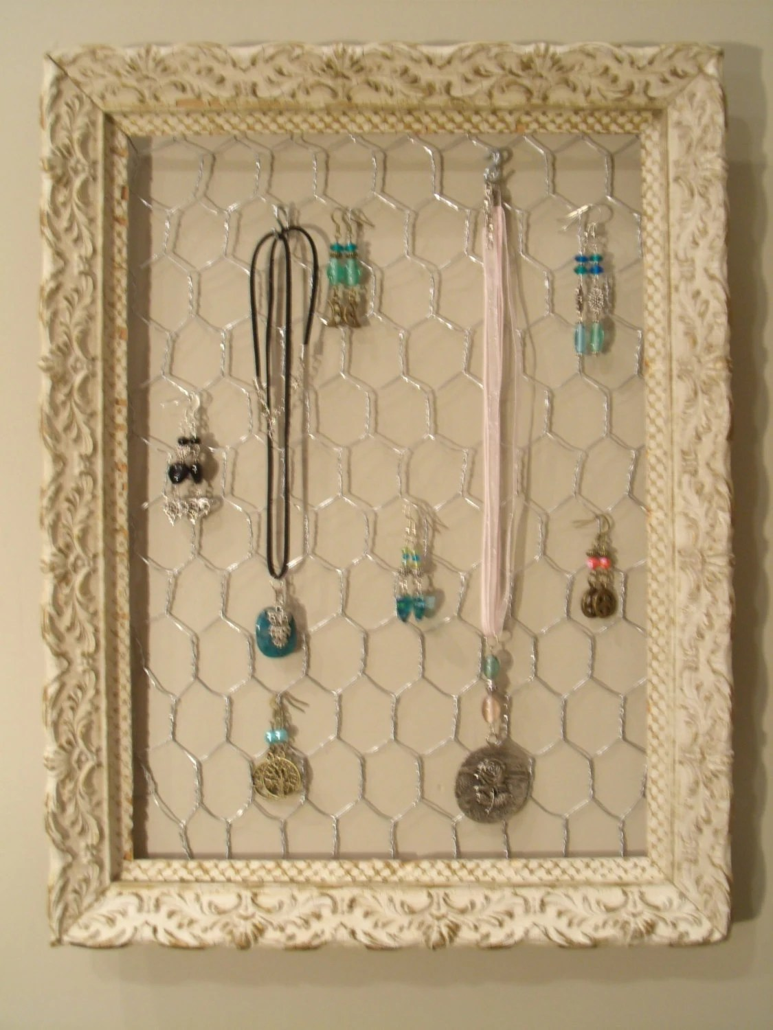 Schmuck Bilderrahmen Antique Frame Jewelry Organizer Display Holder