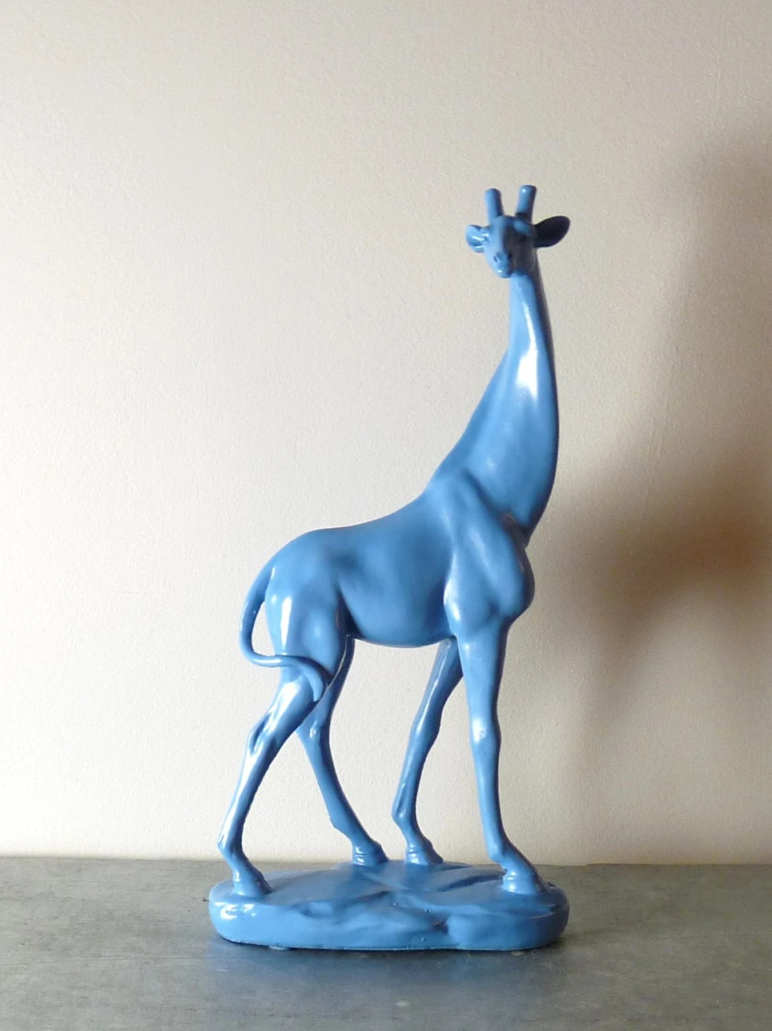 Animal Figurines Home Decor Giraffe Sculpture Figurine Giraffe Decor Animal Decor Home