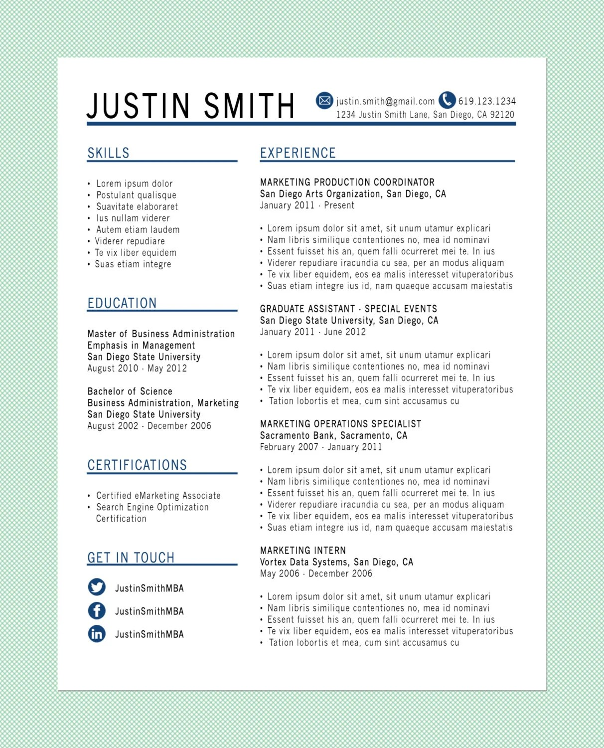 How To Select The File Format For Your Resume Customized Resume The Standard