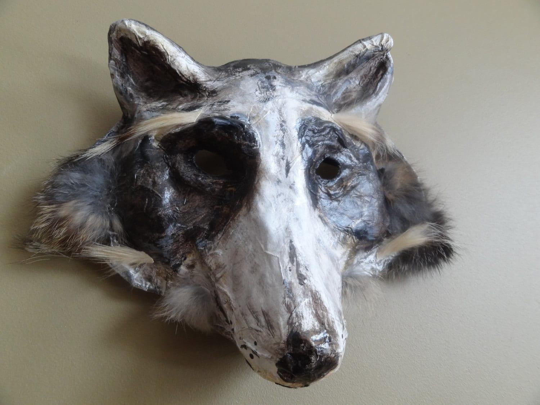 Paper Werewolf Mask