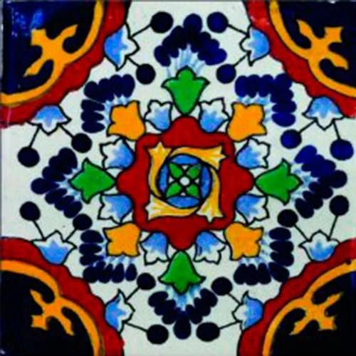 Items Similar To 90 Mexican Tile Handmade Talavera Mosaic