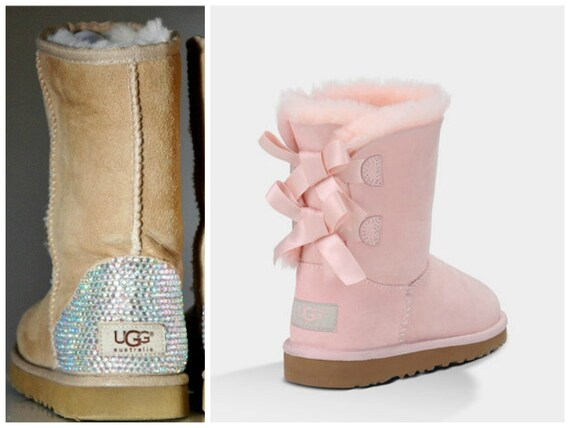 Pink Little Girl Uggs