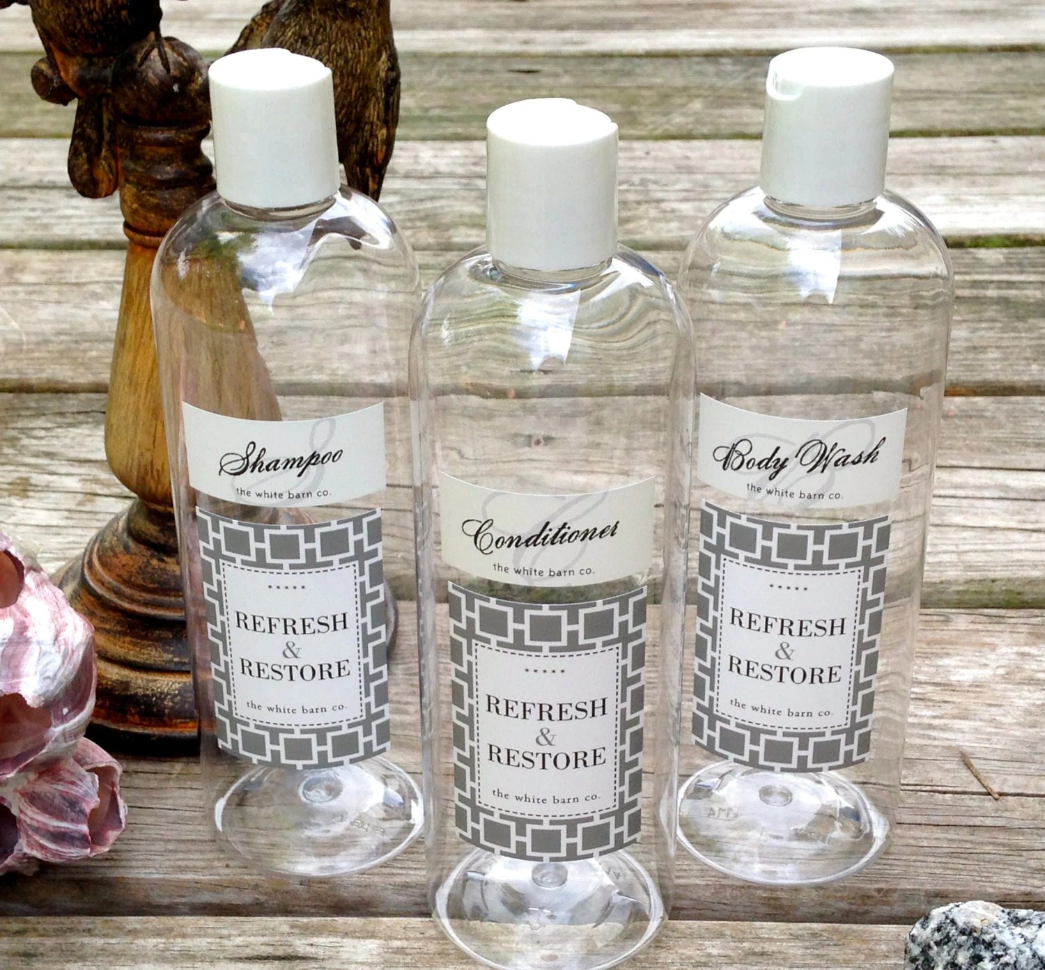 Soap Shampoo Conditioner Dispenser Decorative Soap Dispenser Bottles Set Of 3 Guest By