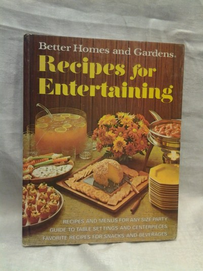 On Sale Better Homes and Gardens Recipes for Entertaining Cook