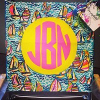 HANDPAINTED Lilly Pulitzer INSPIRED Monogram by ...