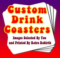 Coasters Custom Order Drink Coaster Set Personalized Drink