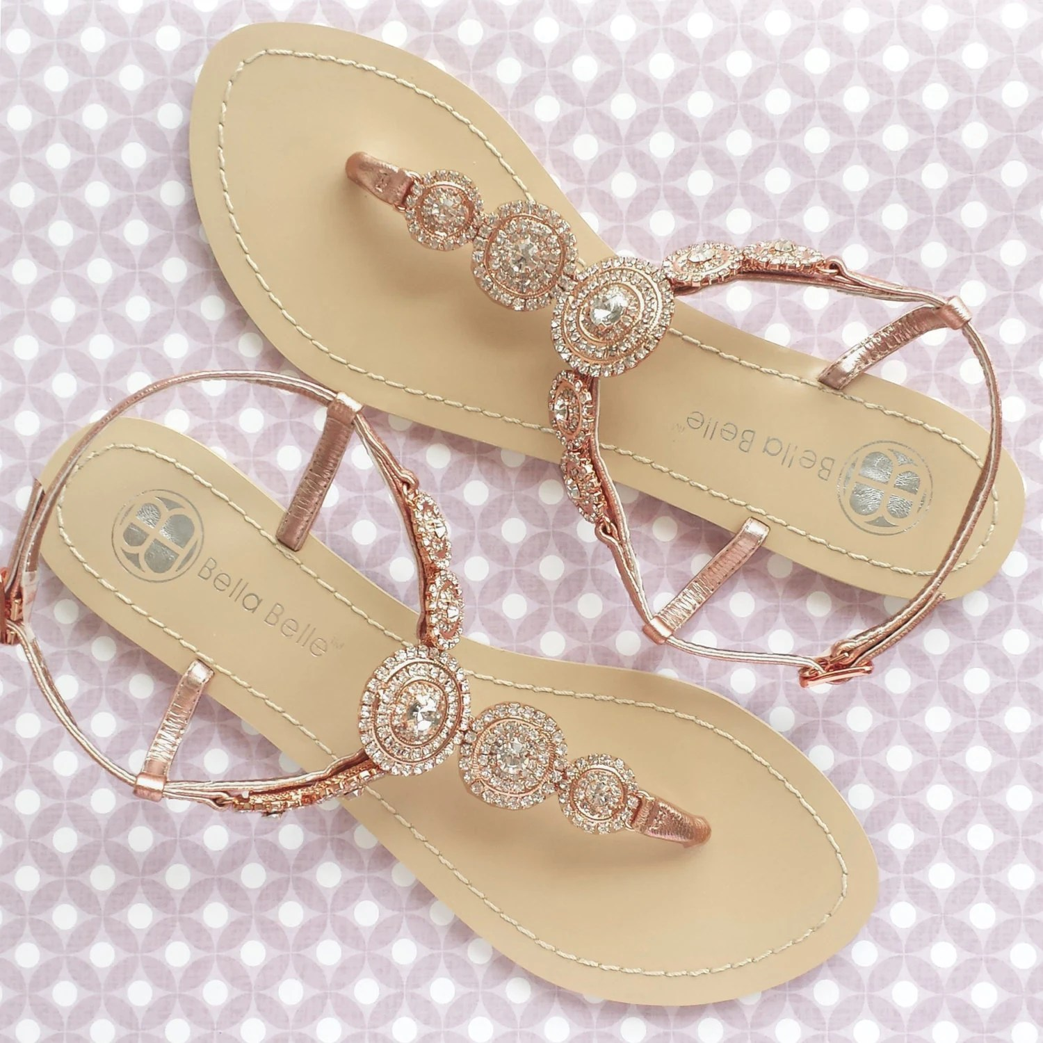 bohemian wedding sandals boho chic with wedding sandals for bride Bridal Thong Shoes Destination Beach zoom