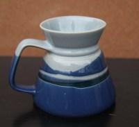 Pottery Travel Mug No Spill Wide Base Narrow Top by ...