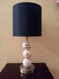 St. Louis Cardinals Fan Custom Baseball Lamp