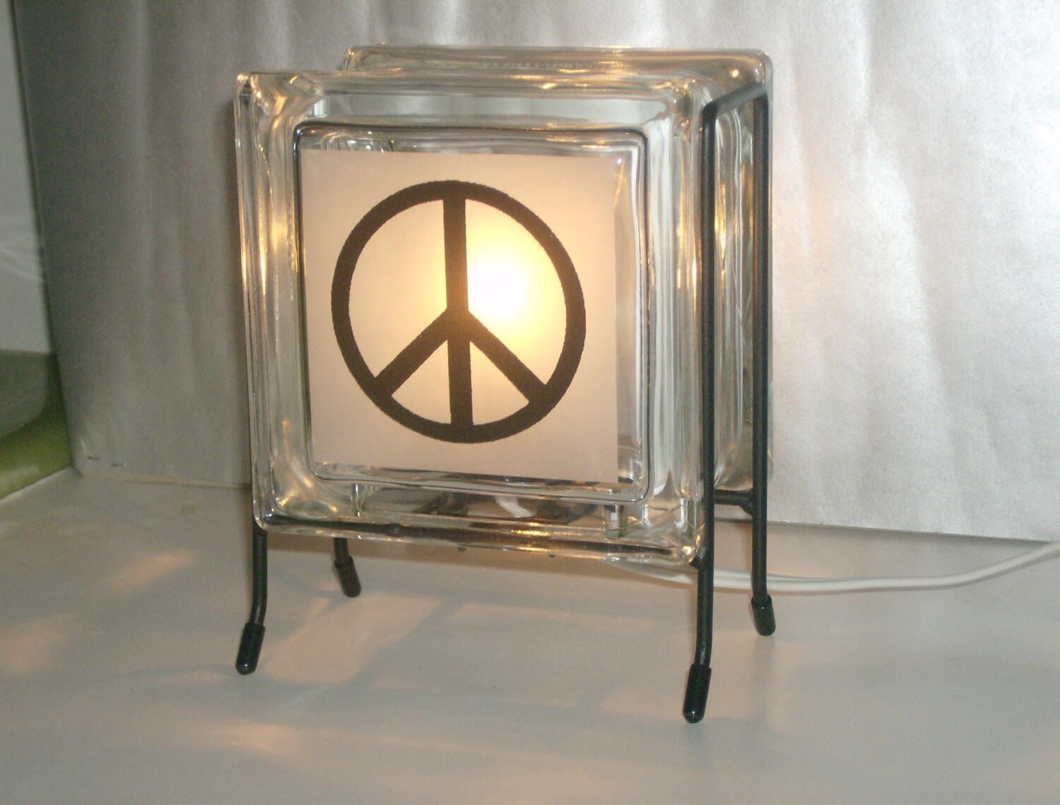 Eco Friendly Night Light Night Light Free Shipping Eco Friendly Peace Symbol By