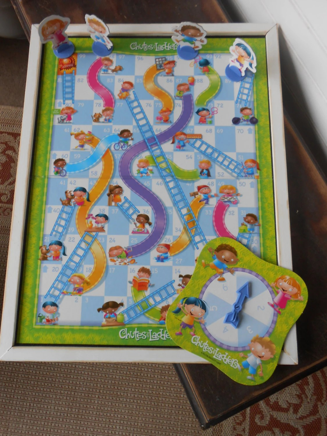 Decorative Game Boards Childs Game Children Board Game Nursery Wall Decor Chutes