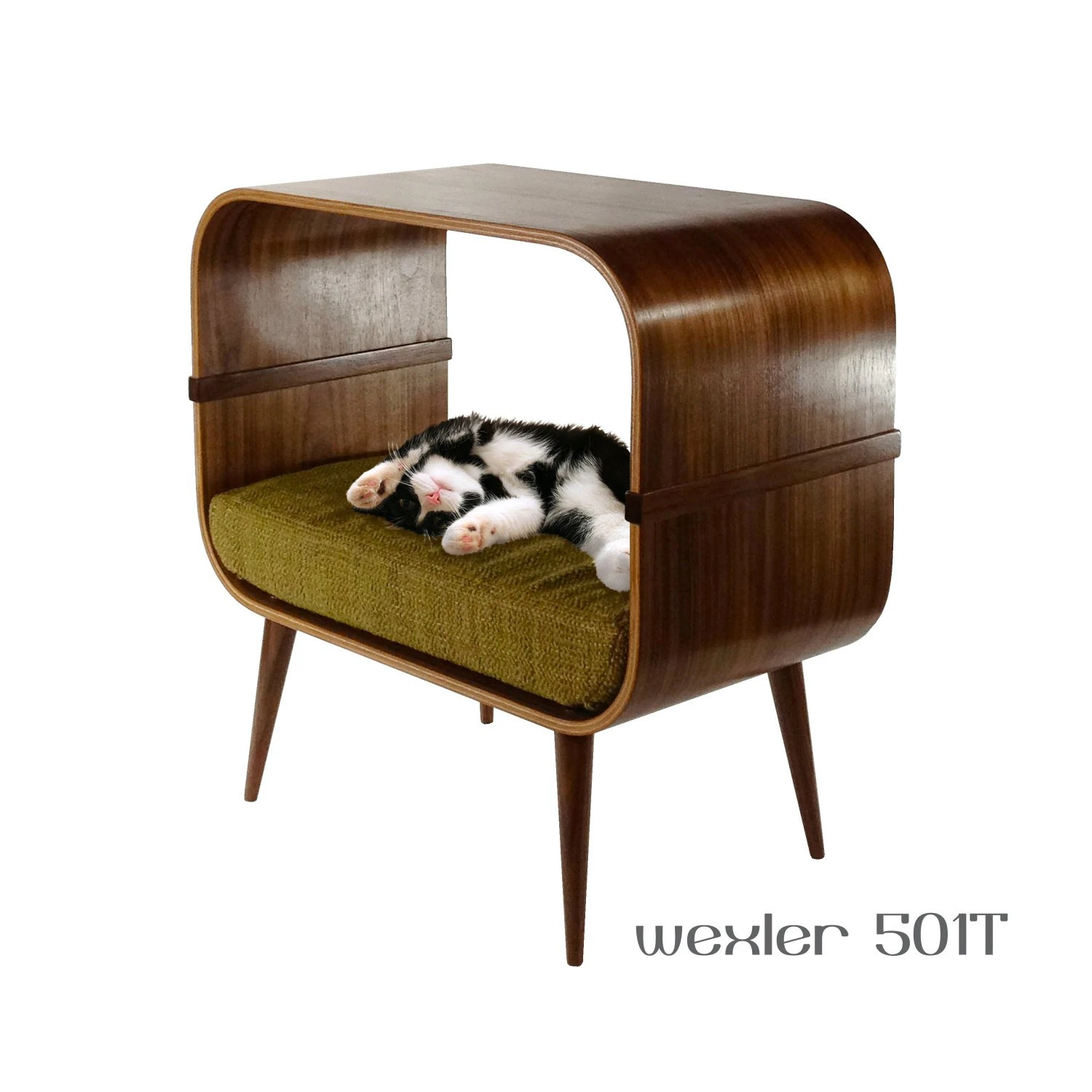 Modern Cat Bed Furniture Mid Century Modern Cat Furniture