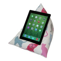 iPad / Tablet Cushion Stand Pillow Holder CAT by eBeanCushions