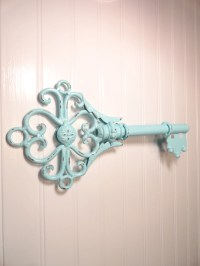 Metal Skeleton Key Wall Decor Shabby Chic Wrought by ...