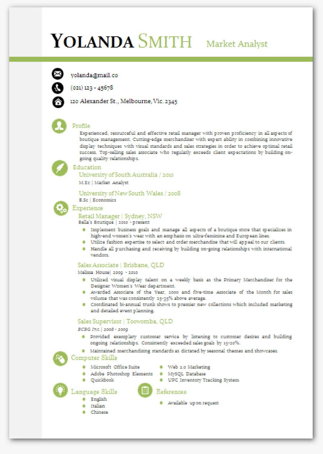 professional looking resume template 1 resume tool a professional resume template modern microsoft word resume template