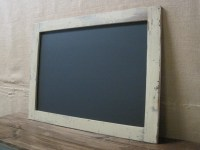 Extra Large Framed Chalkboard made from Reclaimed by ...