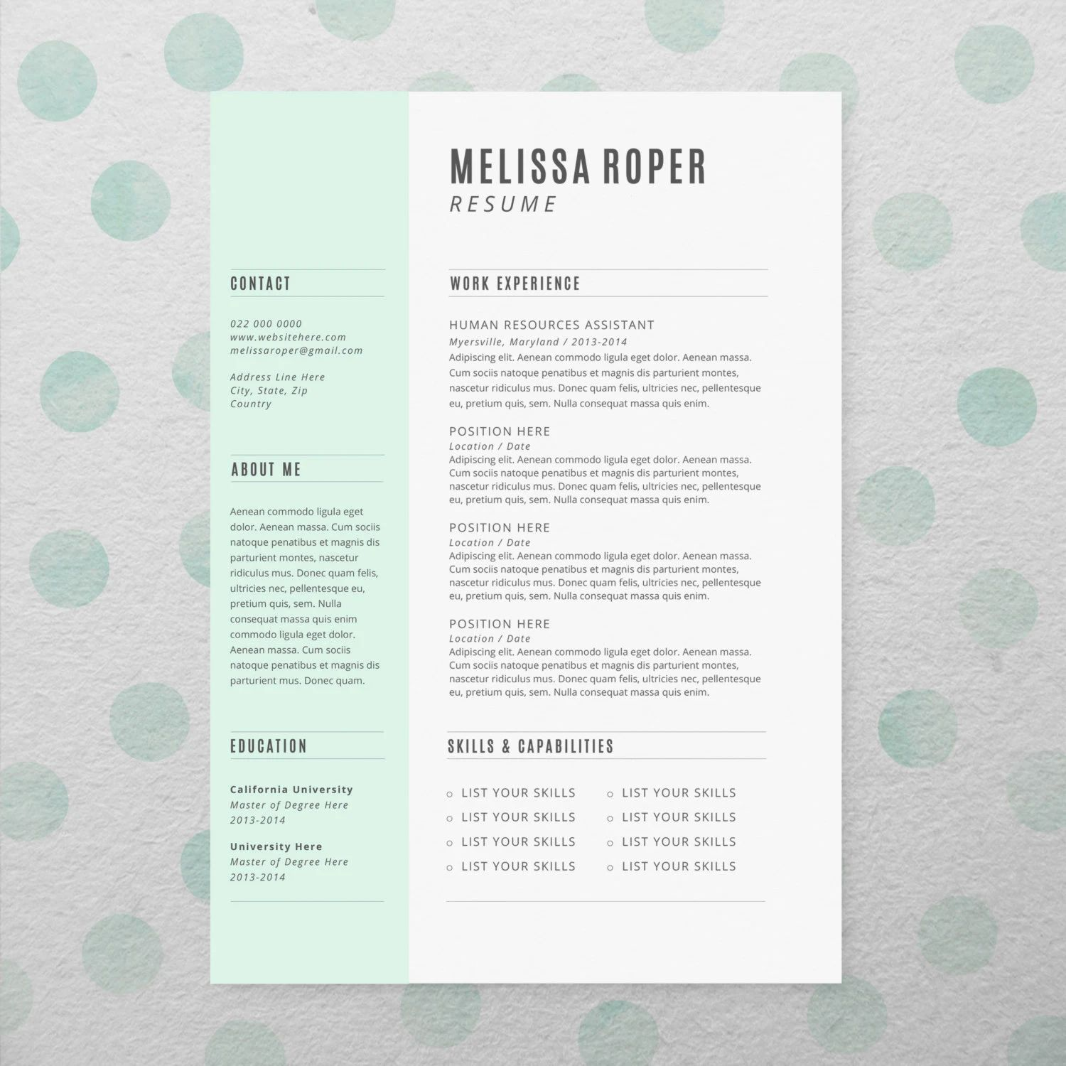faire un cv design gratuit sans photoshop