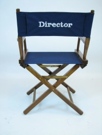 Personalized Director's Chairs / Embroidered / Natural ...
