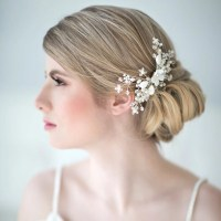 Beach Wedding Hair Accessories Mint Gold Silver Starfish ...