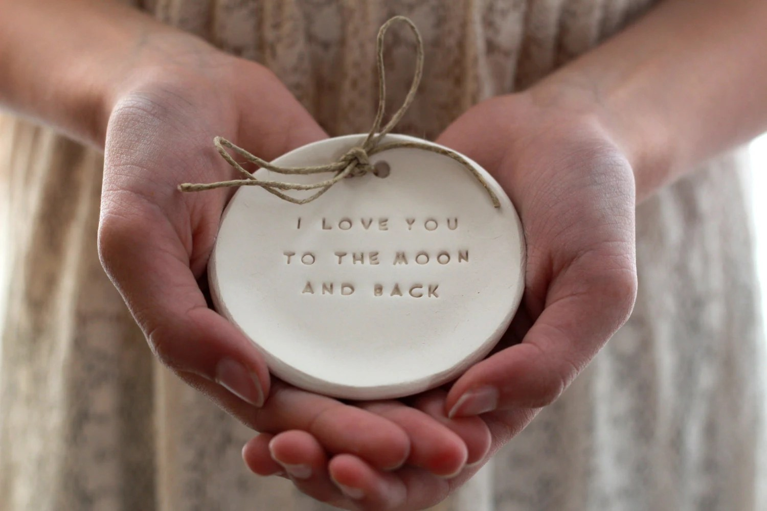 i love you to the moon and back ring alternative wedding rings alternative Wedding ring dish zoom