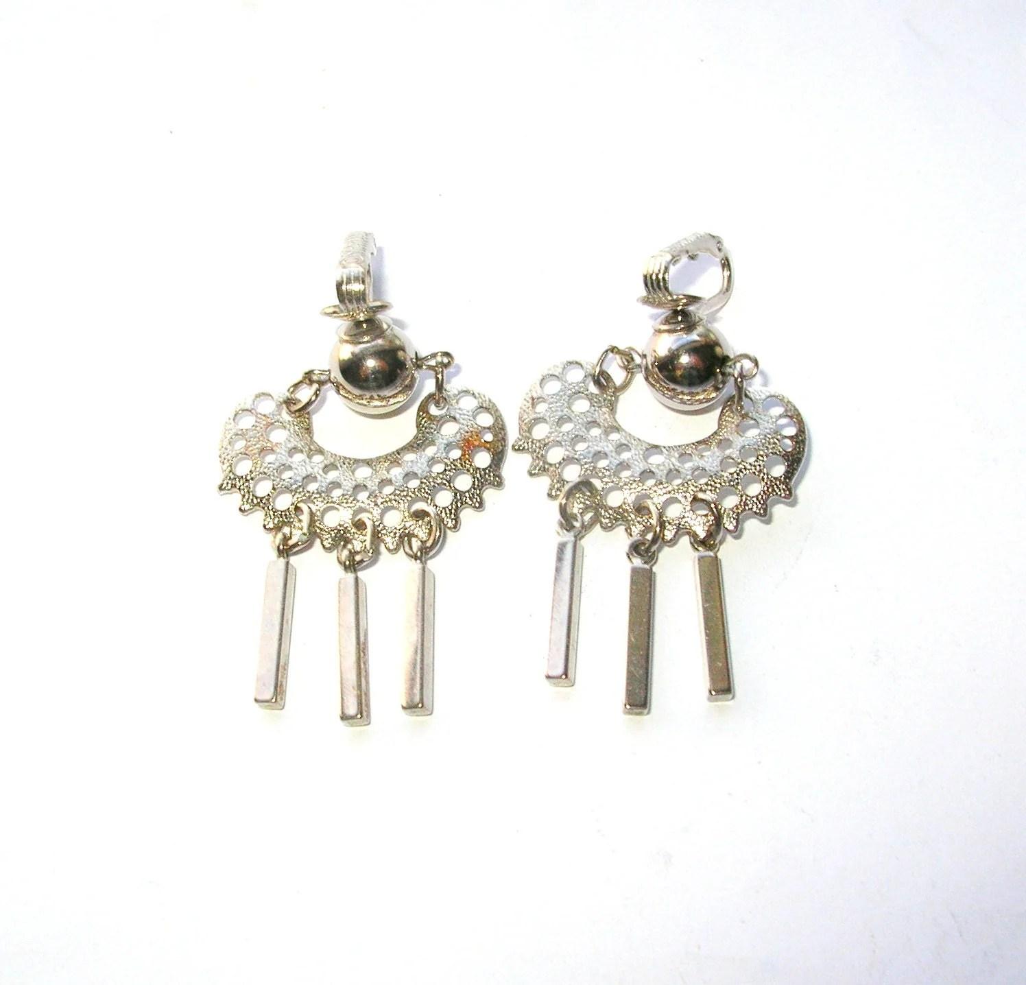 Sarah Coventry Earrings Clip on Vintage Earrings Vintage