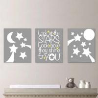 Baby Nursery Art Stars Moon Nursery Decor by ...