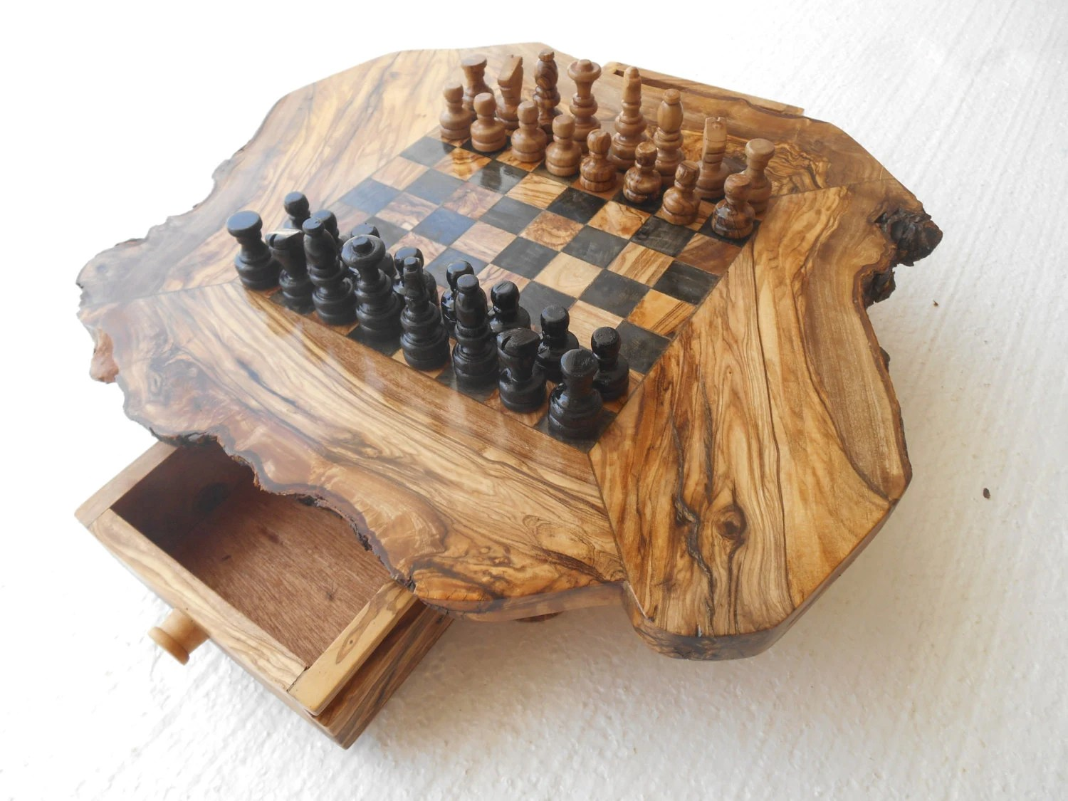 Diy Wood Chess Board Chess Set Wooden Chess Board Wooden Chess By