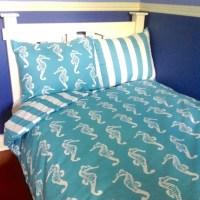 Items similar to Dorm Twin XL Beach Bedding Set Coastal ...