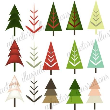 Christmas Tree Clip Art >Holiday Clip Art > Festive Clip Art >Tree Clip Art