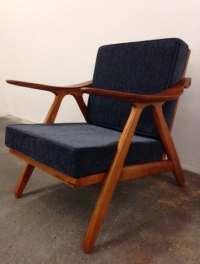 Items similar to Danish Mid Century Modern Style Teak ...