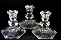 Towle AUSTRIA 24% Lead Crystal Candle Holders by ...