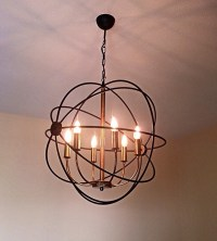 ORBIT Handmade Pendant Light Chandelier Edison Restoration
