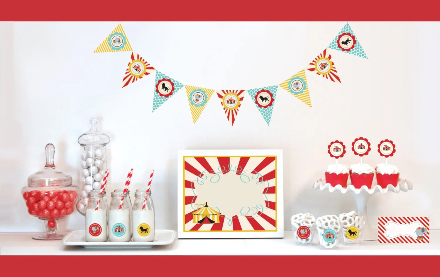 Carnival Theme Party Birthday Ideas