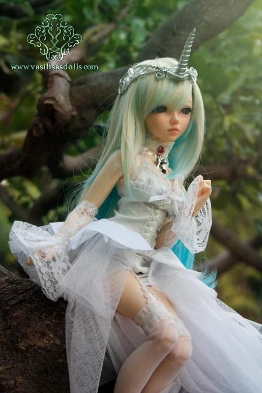Barbie Girl Doll Wallpaper Ooak Unicorn Adjustable Tiara For Dolls Bjd Pullip Blythe