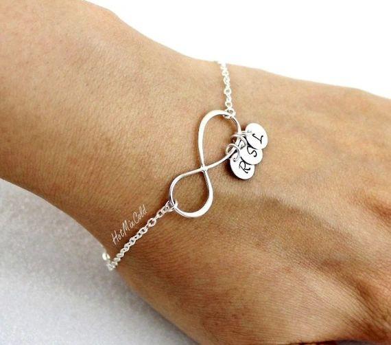 personalized monogram bracelet