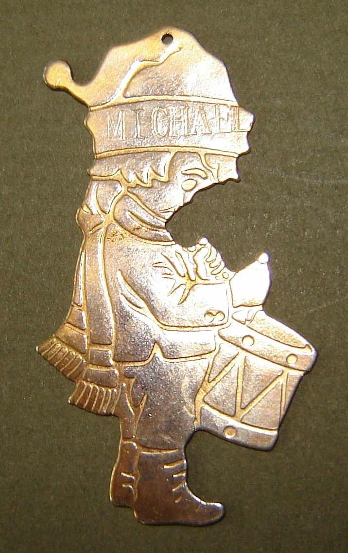 brass engravable christmas ornaments
